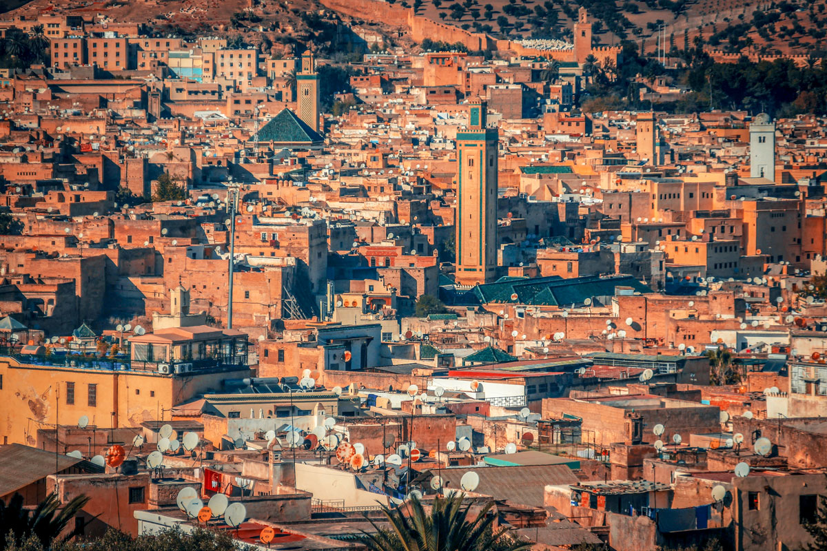 4 days from fes to Marrakech